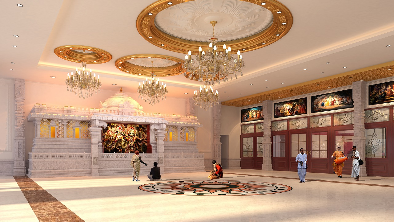 New Temple Project Iskcon Temple Of Greater Chicago