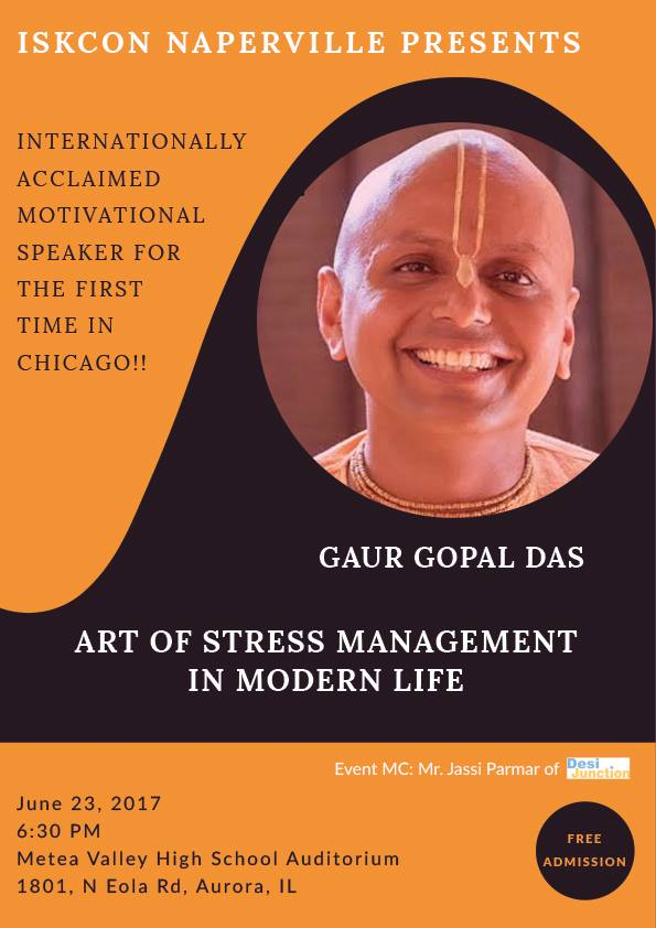 Gaur Gopal Das - Art of Stress Management in Modern Life
